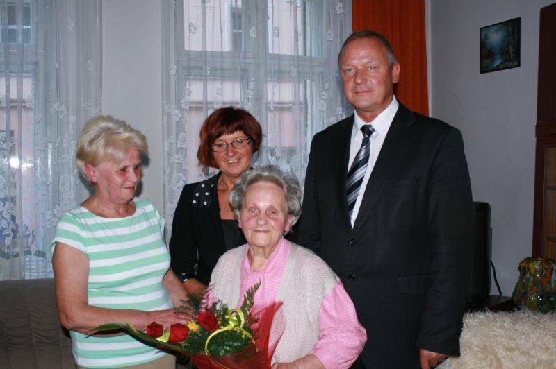 91 urodziny Pani Marianny Szymańskiej (4)