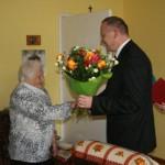 Wizyta urodzinowa u Pani Stanisławy Smółki (1)
