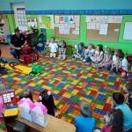 Wizyta strażaków w przedszkolu (3)