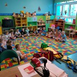 Wizyta strażaków w przedszkolu (32)