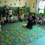 Wizyta strażaków w przedszkolu (42)