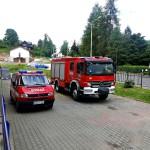 Wizyta strażaków w przedszkolu (9)