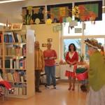 Jesień w bibliotece (2)