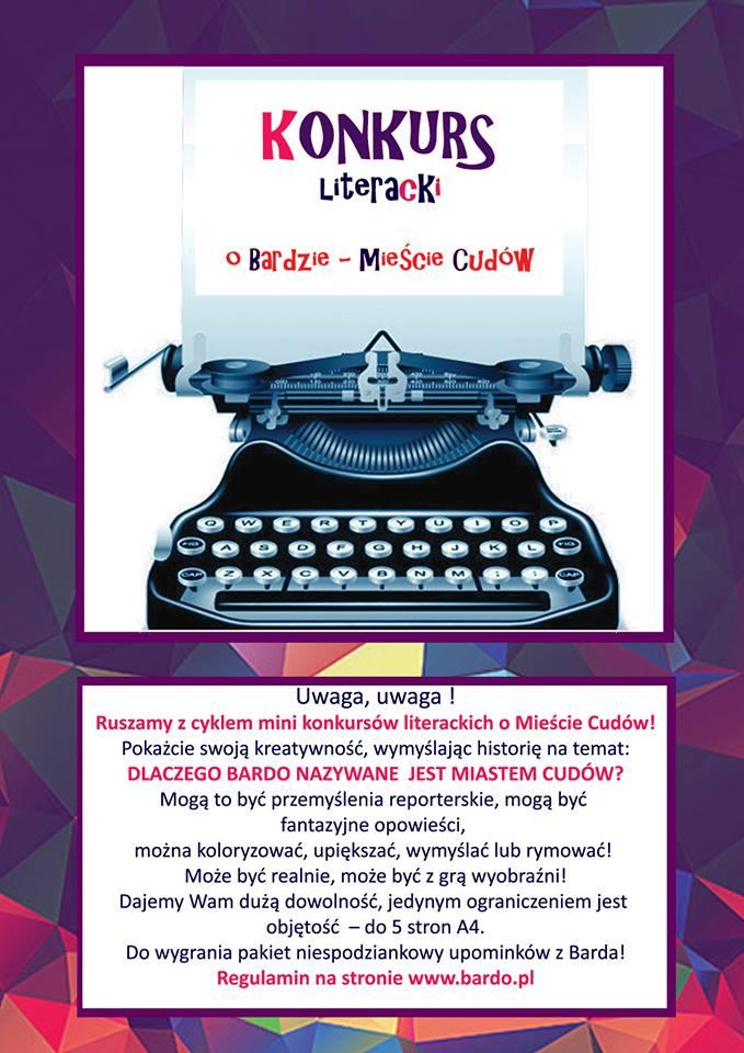 Konkurs literacki w Bardzie