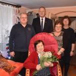 90 urodziny Pani Kazimiery Trzebońskiej  (10)