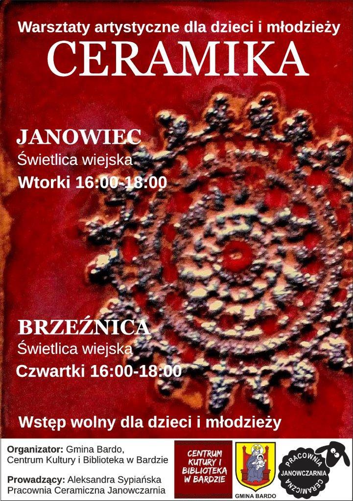 plakat warsztaty janowiec brzeźnica (2)