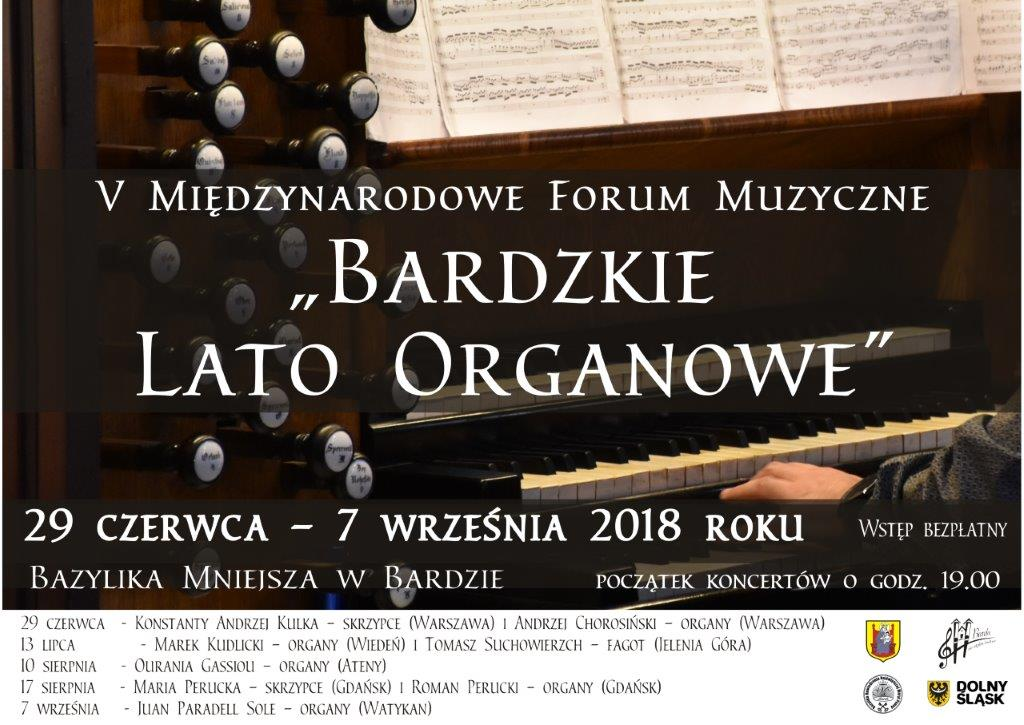 lato organowe plakat 2018 maly