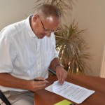 Podpisanie umowy - ul. Główna (2)