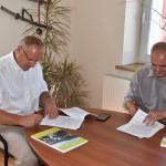 Podpisanie umowy - ul. Główna (4)